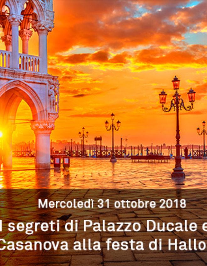 I segreti di Palazzo Ducale e la fuga di Casanova nella notte di Halloween.