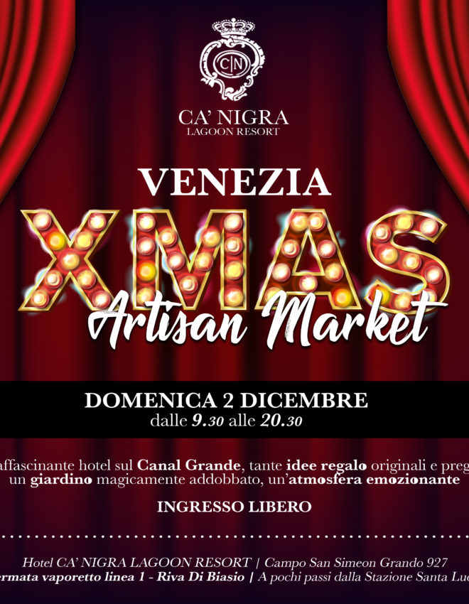 Xmas Artisan Market Venezia – Hotel Ca' Nigra